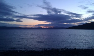 The view from Applecross